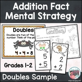 Addition Fact Strategy Doubles Free Sample