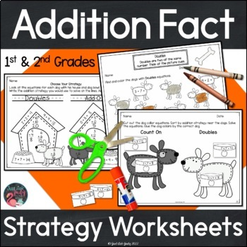 Addition Fact Strategies Worksheets
