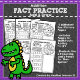 Addition Fact Practice: Add and Draw