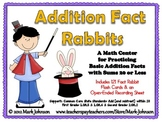 Addition Fact Rabbits   A Basic Facts Center with Sums to 20