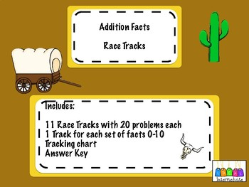 Addition Fact Races