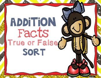 Addition Fact Sort