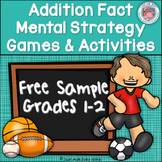 Addition Fact Strategies Games and Activities Free Sample