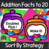 Addition Fact Strategies Jelly Bean Sort