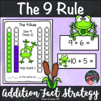 Addition Fact Strategy Adding 9