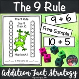 Addition Fact Strategy Adding 9 Sample