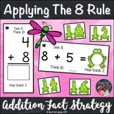 Addition Fact Strategy Applying the 8 Rule