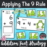 Addition Fact Strategy Applying the 9 Rule