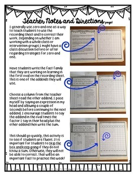 Mastering Addition Facts Strategically and Systematically