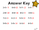 Addition Fact Tests for Struggling Learners