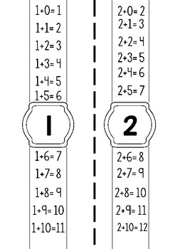 Addition Fact Watches