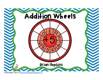Addition Fact Wheels