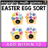 Easter Math Game | Addition Facts 0-10