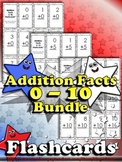 Addition Facts (0 - 10) Flashcards - Sums to 20 - BUNDLE - King Virtue