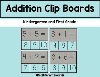 Addition Facts (0-10 sums)