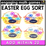 Easter  Math Game | Addition Facts 0-20