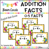 Addition Facts 0-5 BOOM Cards {Digital Task Cards}