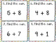 Addition Facts (0-9) SCOOT! Game, Task Cards or Assessment