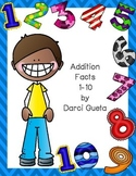 Addition Facts 1-10