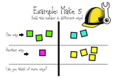 Addition Facts Sums 1-12 Divided Work Mat
