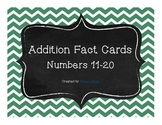 Addition Facts 11-20