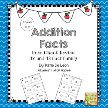 Addition Facts 17 and 18 Cooperative Learning Peer-Check-Review