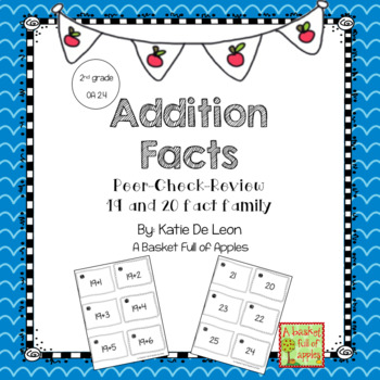 Addition Facts 19 and 20 Cooperative Learning Peer-Check-Review
