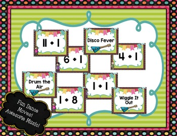 Addition Facts BRAIN-ercises Plus 1: Dance and Learn Addition Freebie