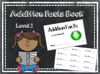 Addition Facts Book Level 2