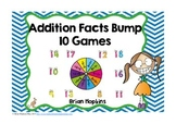 Addition Facts Bump Fluency
