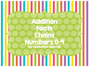 Addition Facts Chains