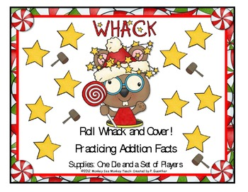 Addition Facts / Christmas Whack and Roll