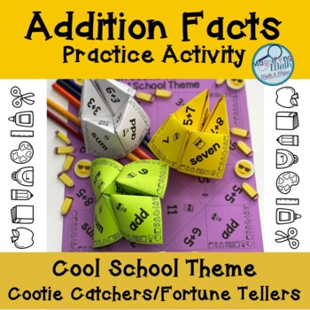 Addition Facts Cootie Catchers