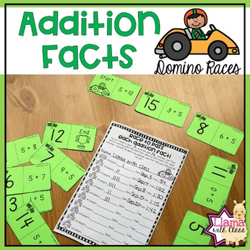 Addition Facts Domino Races