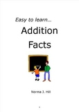 Addition Facts - Easy to Learn Series