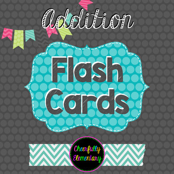 Addition Facts Flash Cards 0-9: Self-Checking!