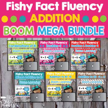 Addition Fact Fluency DIGITAL Task BOOM CARDS