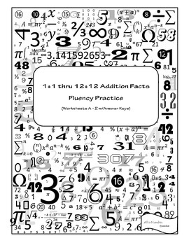 Addition Facts Fluency Practice
