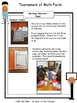 Math Facts - Addition Fact Fluency Program Basketball Themed