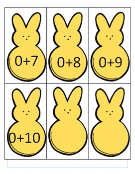 Addition Facts Game 0-5
