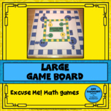 Excuse Me! Math Game Board