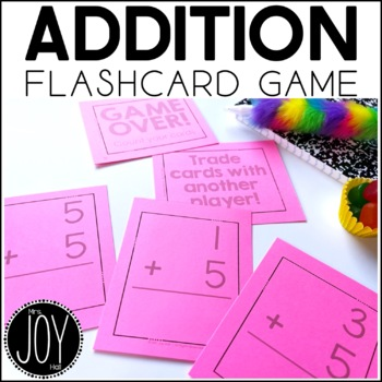 Addition Facts Flashcard Game