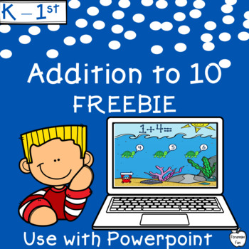Addition Facts Interactive Game ~ Distance Learning ~ K-1st