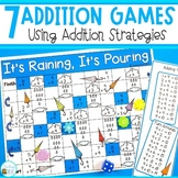 Addition Strategy Games for Count ons, Doubles, Doubles +1 and 2, Adding 9