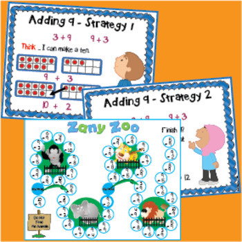 Addition Strategy Games and Strategy Posters