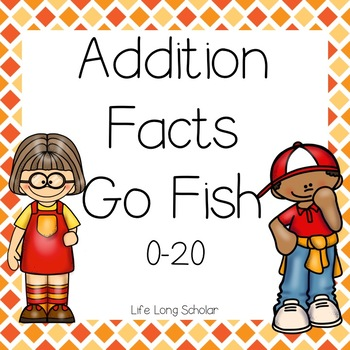 Addition Facts Go Fish within 20 (TEKS 2.4A)