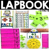 Addition Facts Lapbook | + 3 Facts