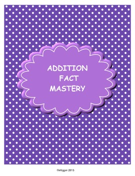 Addition Facts Mastery