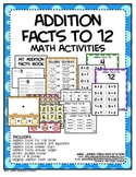 Addition Facts Math Activities