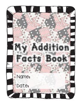 Addition Facts Mini Book